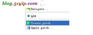 svn create patch