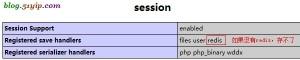 session 可以存到redis中